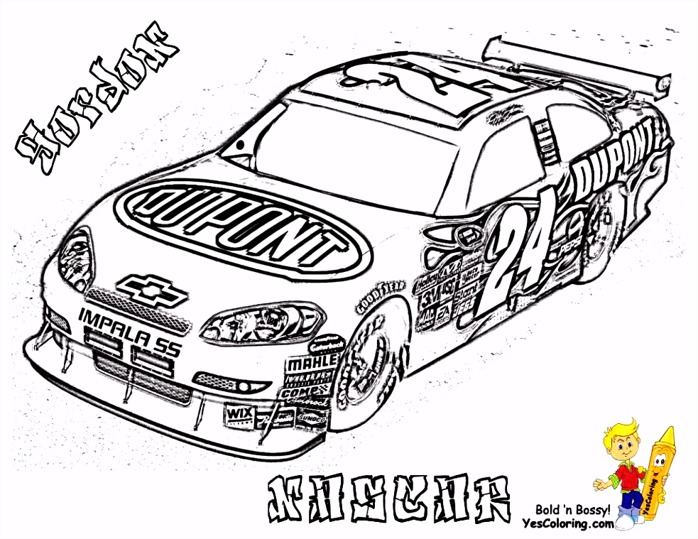 Coloring Cars Race Car Coloring Pages Luxury Kleurplaat Collection