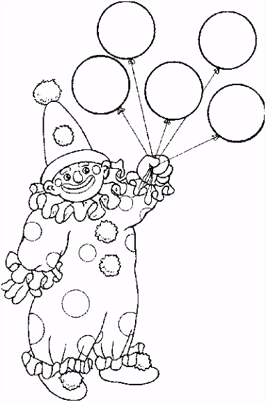 coloring page Circus Kids n Fun
