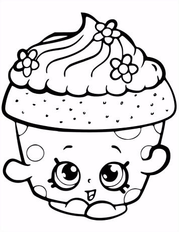 Cupcake Kleurplaat ARCHIDEV