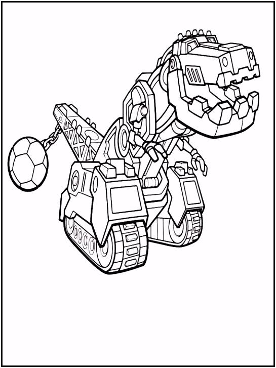 Dinotrux Kleurplaten 1