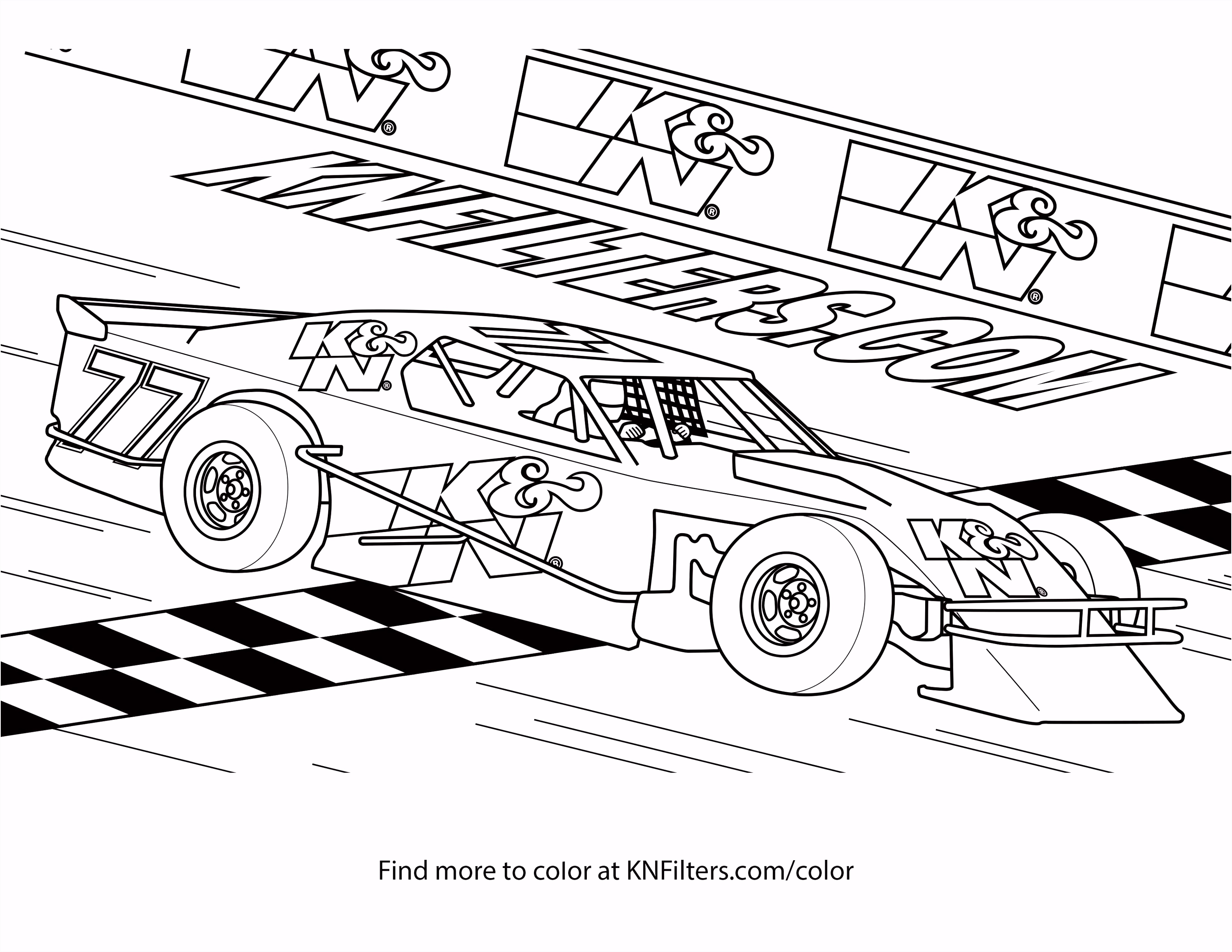 Racing Coloring Pages Racing Car Coloring Pages Race Car Coloring
