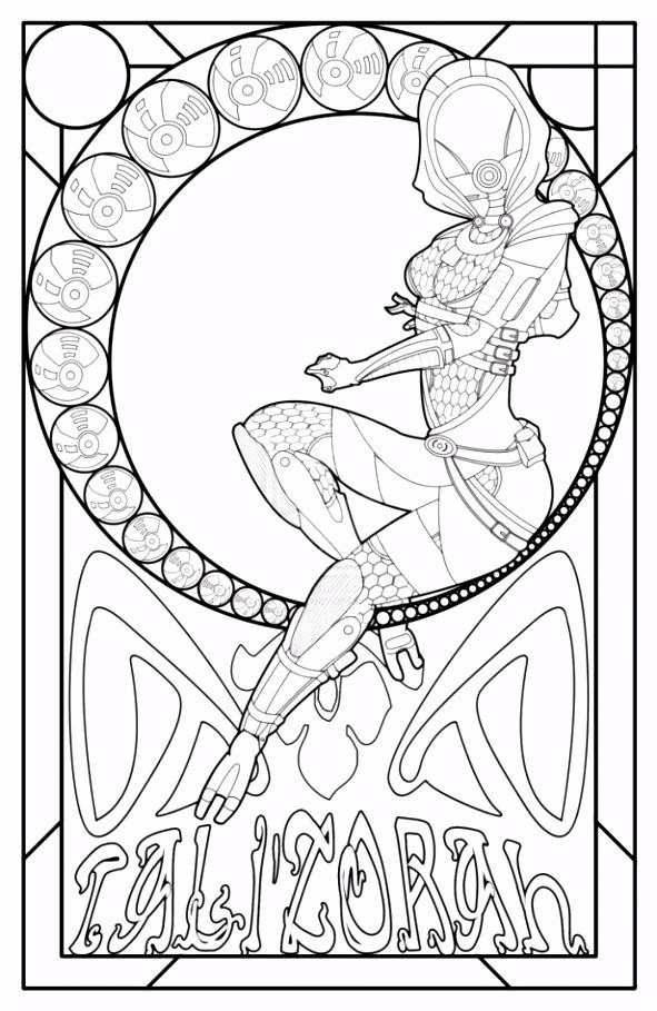 actie art nouveau kleurplaten Essence Art Nouveau Style For Bigger