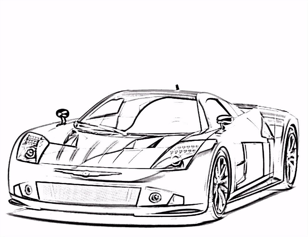 Car Image Race Luxury Race Car Coloring Pages Luxury Kleurplaat Cars