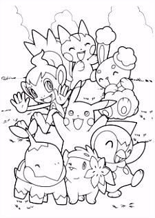72 beste afbeeldingen van Pokemon kleurplaten Coloring pages for
