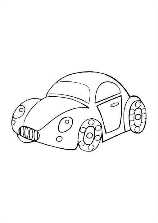 Kleurplaat Auto Bmw ARCHIDEV
