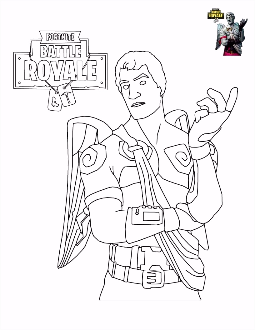 Fortnite Coloring Sheets To Print COLOR ME in 2018