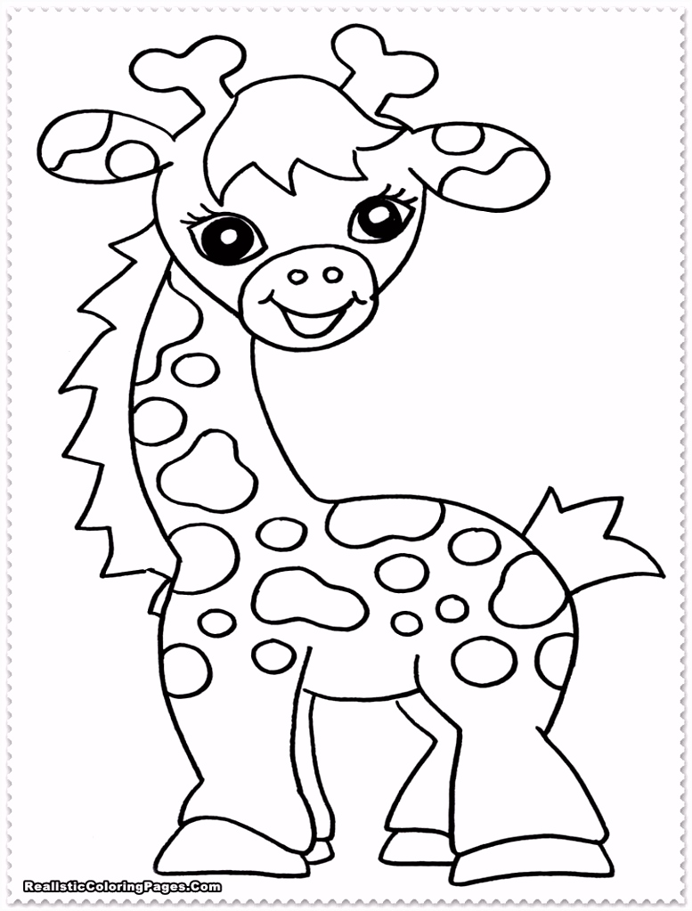 Coloring Page Baby Animal Superb orange Coloring Page