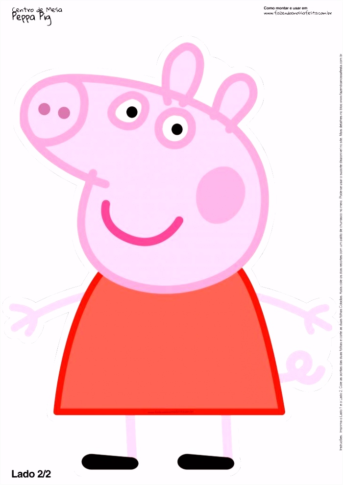 Peppa Pig Halloween Centro De Mesa Peppa Pig toten Display 2