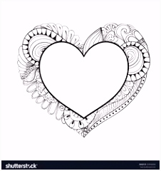 130 best HEARTS■COLORING PAGES images on Pinterest