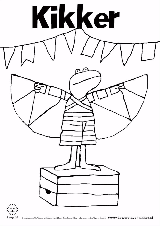 Kikker En Zijn Vriendjes Kleurplaat KO01 – Aboriginaltourismontario