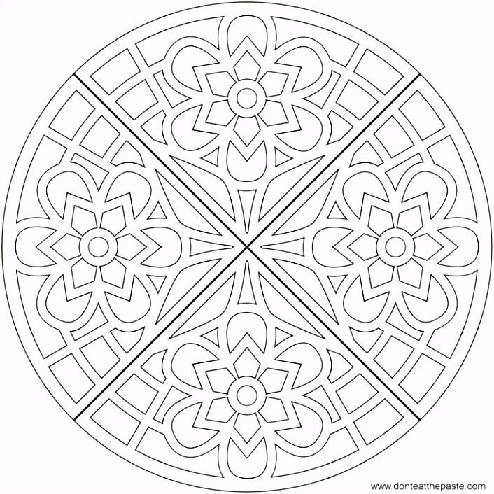 3 Gratis Mandala Kleurplaten Voor Volwassenen Printables