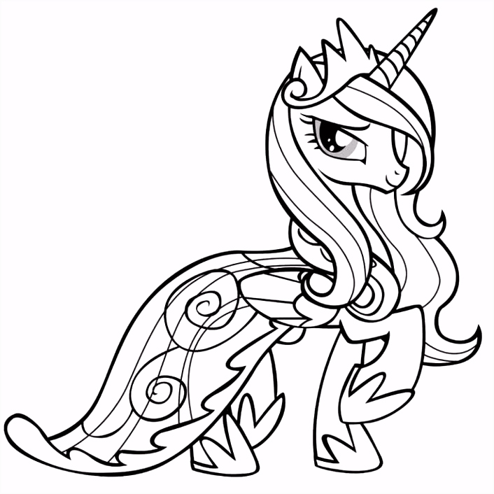 58 Fresh Mlp Fim Coloring Pages