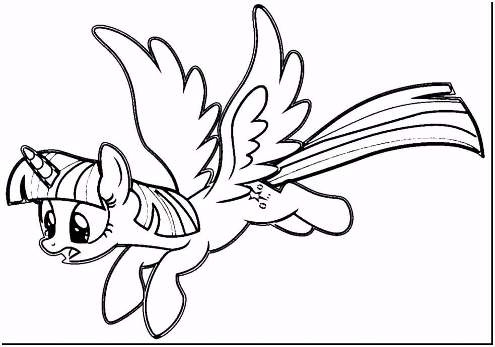 Awesome Fein Twilight Sparkle Pony Ausmalbilder Fotos Druckbare