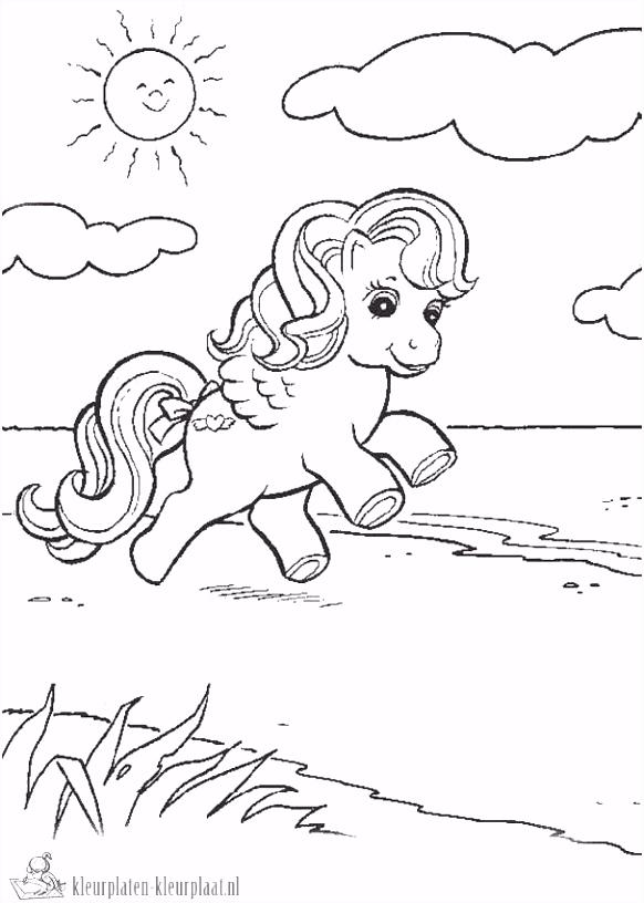 Kleurplaten my little pony tales