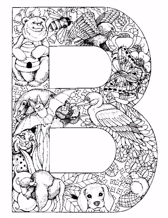 26 coloring pages of Alphabet animals on Kids n Fun Op Kids n
