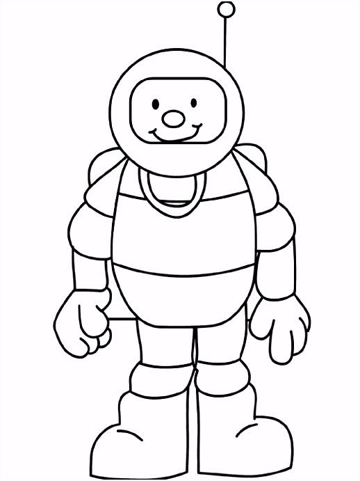 astronaut kleurplaat Google zoeken