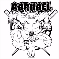 Teenage Mutant Ninja Turtles Coloring Pages 9 Coloring