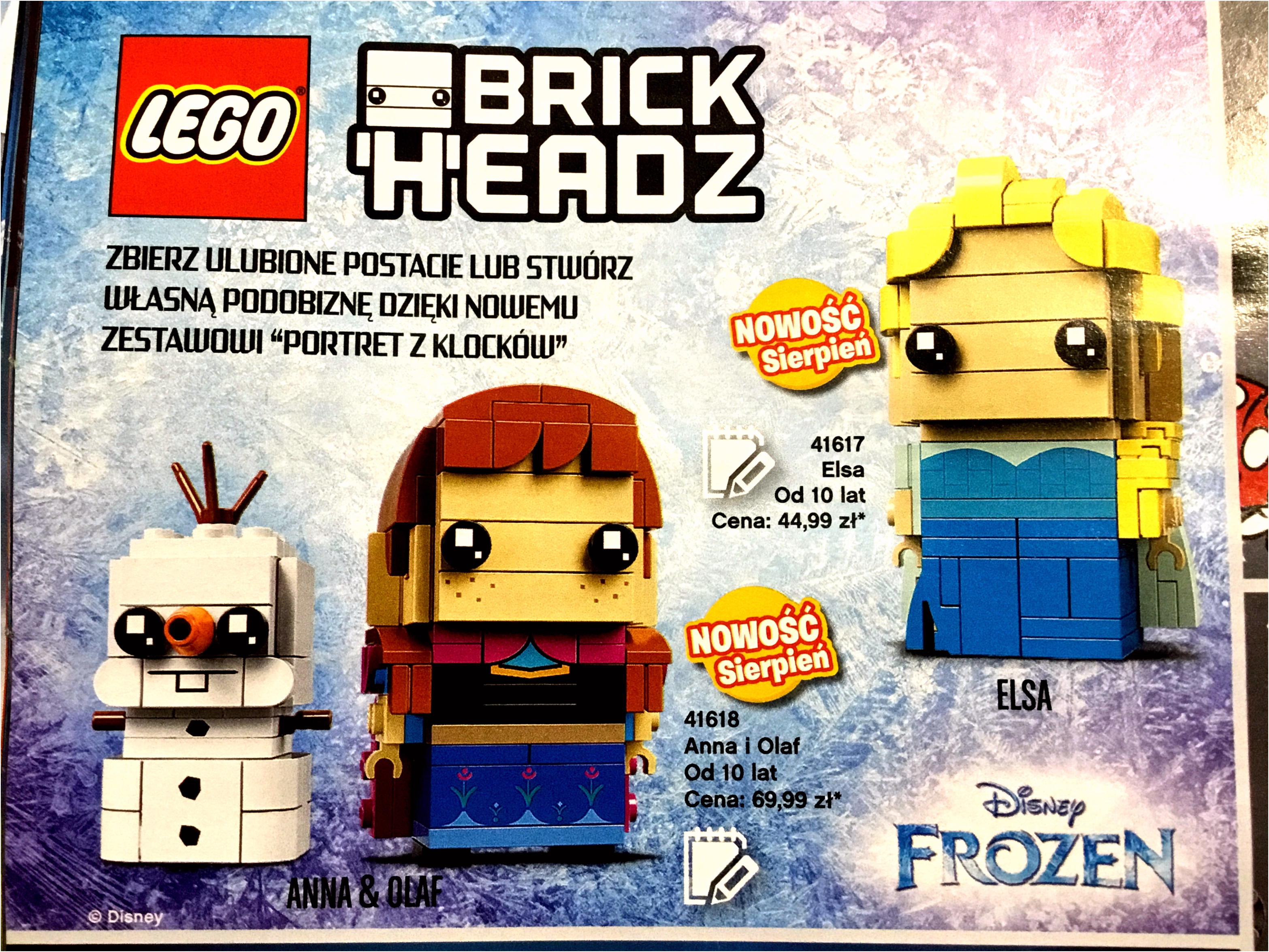 Anna Frozen Immagini – Frozen Brickheadz Revealed – fanmoz