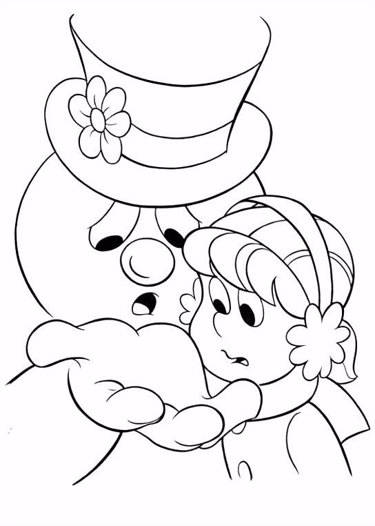 Frosty the Snowman Kleurplaten 10 Kleurplaat Kleurplaten voor