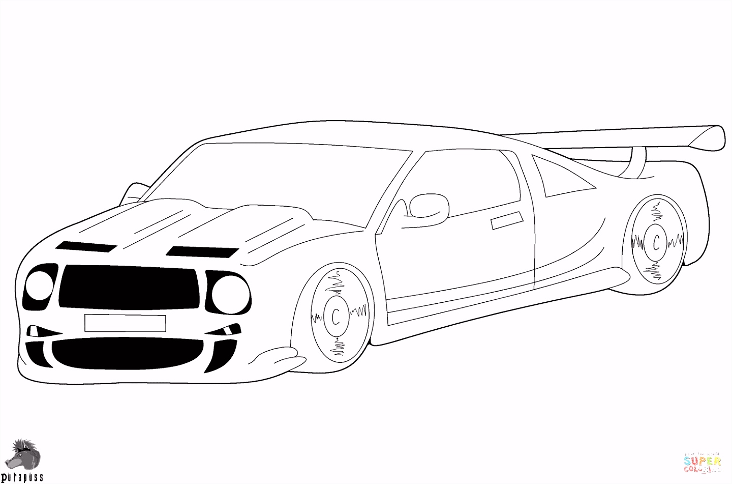 Coloring Cars halloween coloring pages