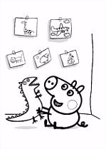 Les 43 meilleures images du tableau coloring pages peppa pig sur