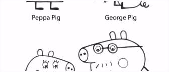 Peppa Pig Halloween 55 Peppa Pig Kleurplaat
