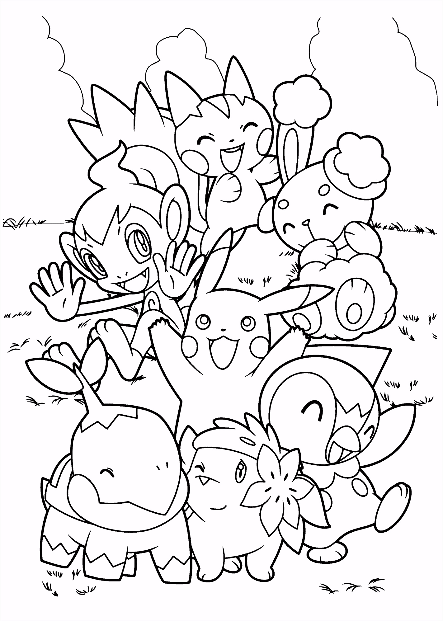 Top 75 Free Printable Pokemon Coloring Pages line