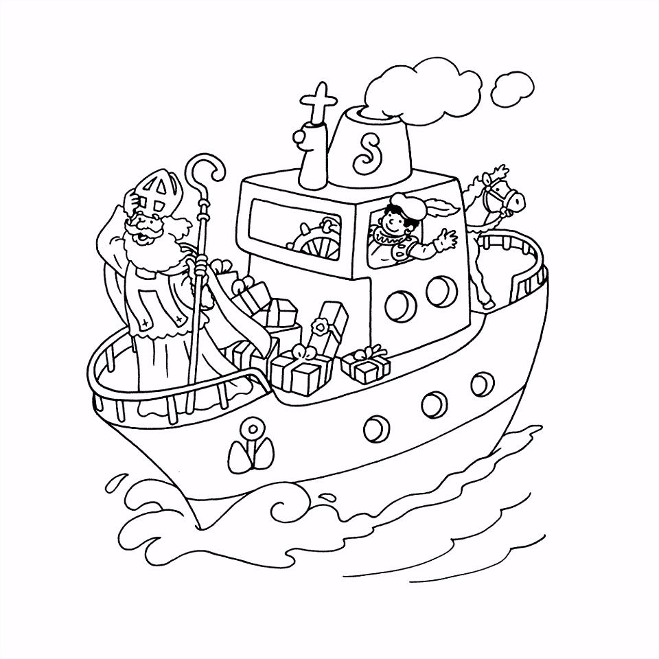 Leuk voor kids – Pakjesboot is onderweg