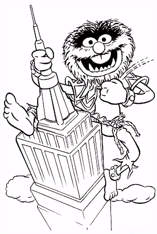 13 Character Coloring Printables Exit Entrance Coloring Page