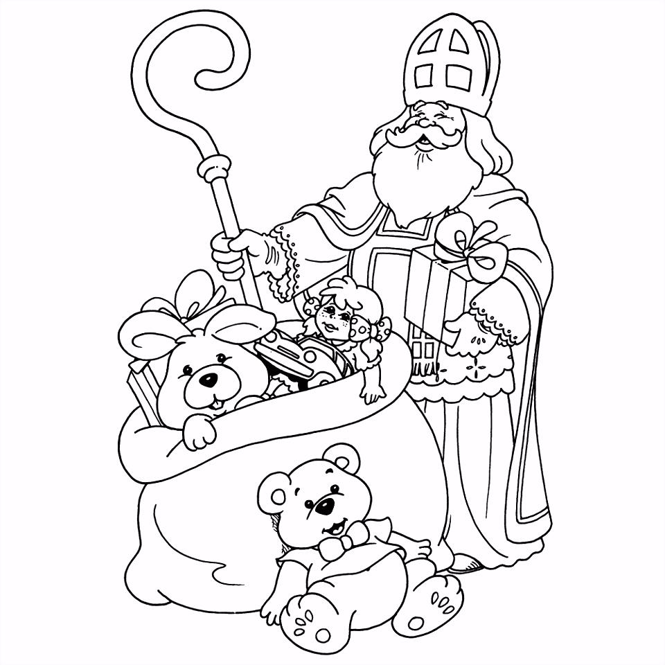 Leuk voor kids – Sinterklaas met de zak met presentjes