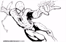 Immagini Spider Man – Spiderman Coloring Spiderman Picture to Color