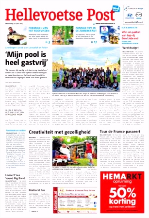 Hellevoetse Post week26 by Wegener issuu