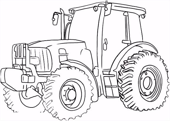 Resultado de imagen de kleurplaat tractor card making