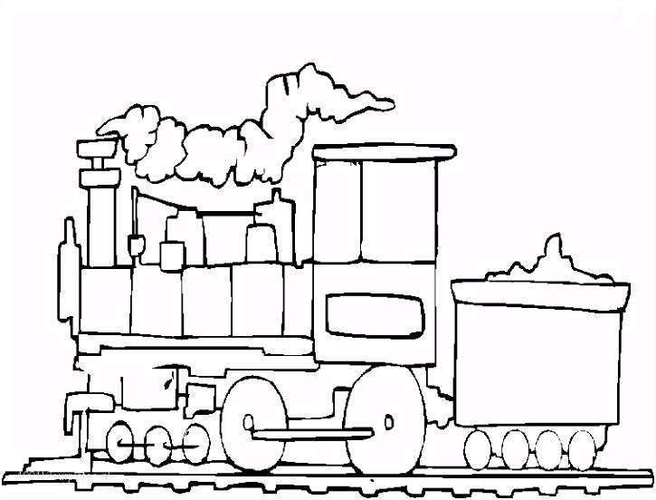 1001 KLEURPLATEN Voertuigen Trein Kleurplaat Trein