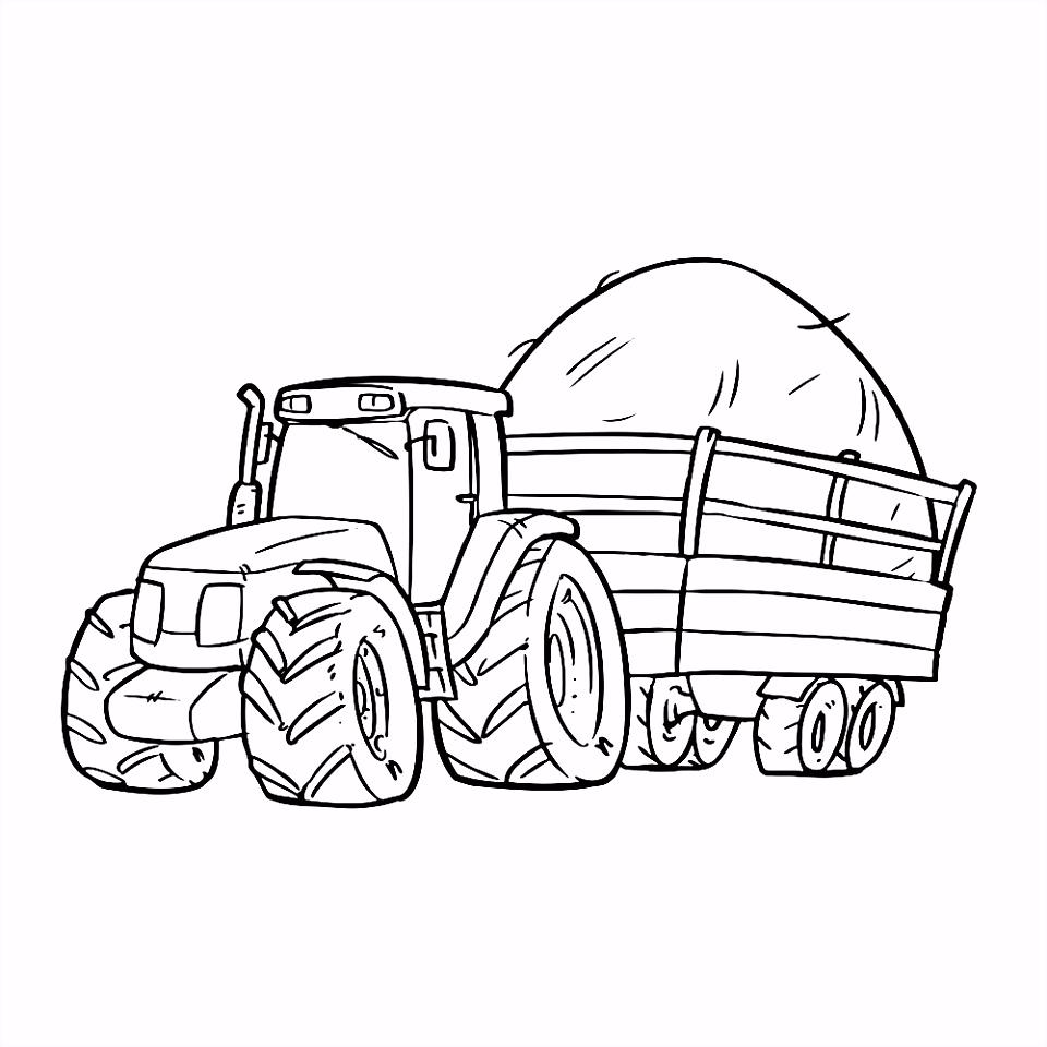 Leuk voor kids – tractor 0004