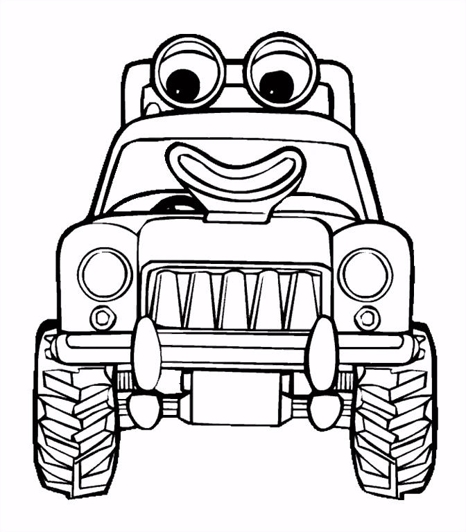 tractor tom kleurplaat 车 Pinterest