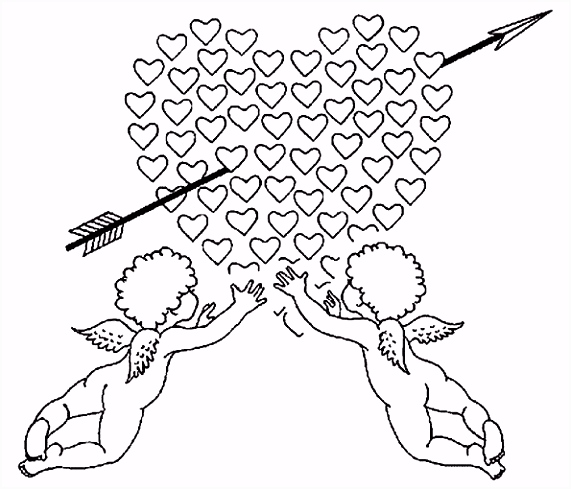 Valentine Hearts to Color Valentine S Day Heart Candy Coloring Page