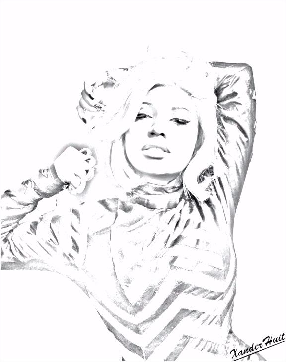 Nicki Minaj Kleurplaten Bang J En Coloring Books For Kids – quadeofo