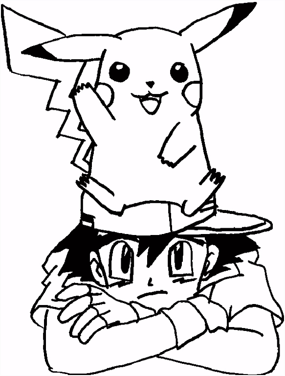 Printable Pokemon Coloring Pages Free Coloring Library
