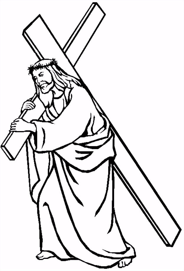 Jezus draagt zijn kruis GKV Apeldoorn Zuid