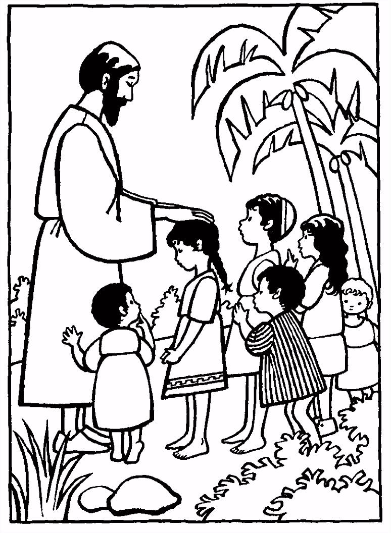 Jezus houdt van kinderen