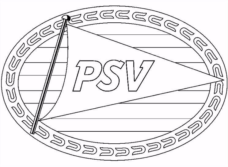 Kleurplaat Voetbal Logo Nederland ARCHIDEV