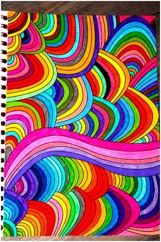 Eigen kleurplaat uit Het enige echte kleurboek voor volwassenen op