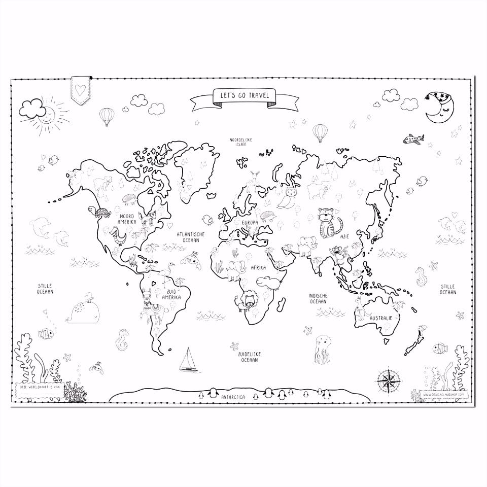 8 kleurplaat wereldkaart sletemplatex1234