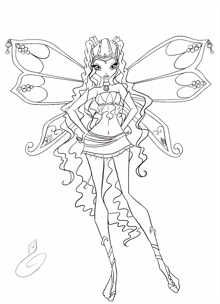 Winx club coloring pages Google Search