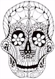 60 best Skull Art images on Pinterest