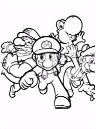 Mario kleurplaten TopKleurplaat
