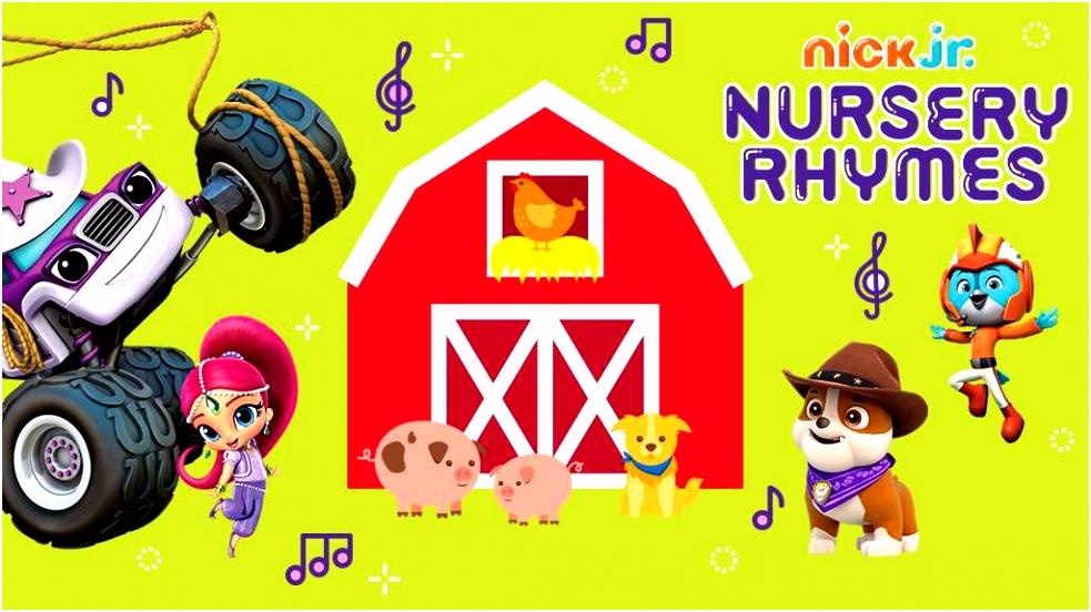 Nick Jr Nursery Rhymes Old MacDonald Nick Jr Original Video