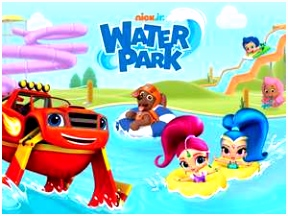 Nick Jr Water Park Preschool Game on Nickjr
