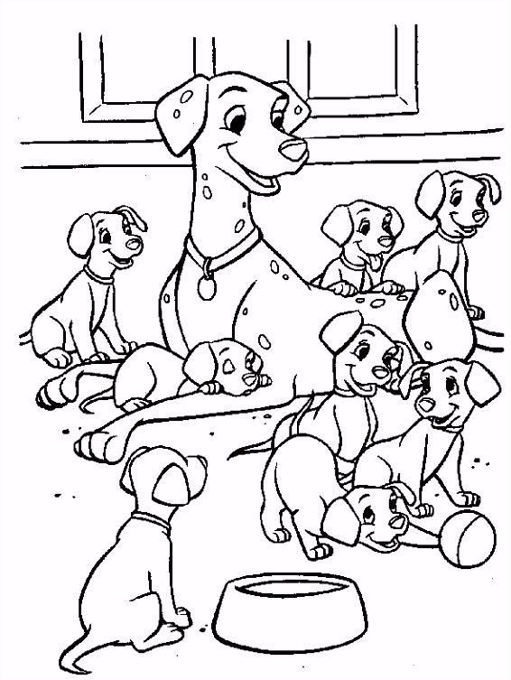 101 Dalmatiers Kleurplaat Disney Kleurplaat Animaatjes